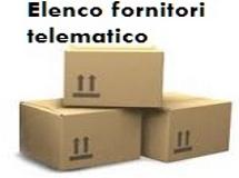Elenco fornitori telematico