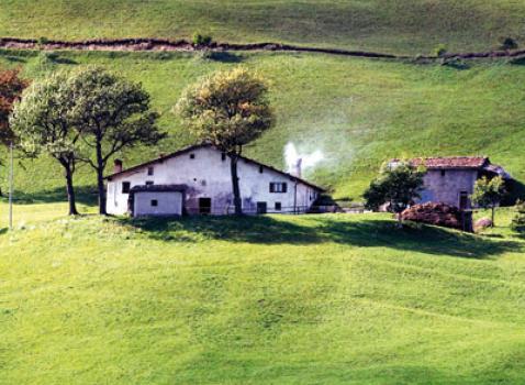 Malga montana in Val Trompia