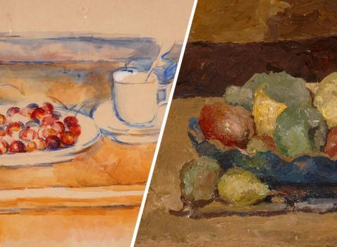 Cézanne e Morandi